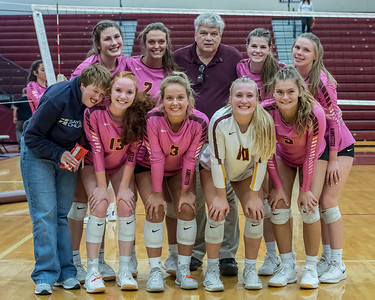 Ankeny Hawkettes Volleyball vs Johnston 10/15/19