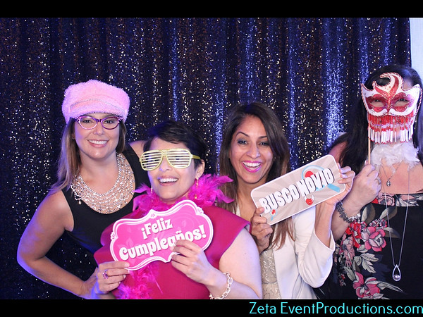 Jani 40th Birthday Bash Photo Booth Images
