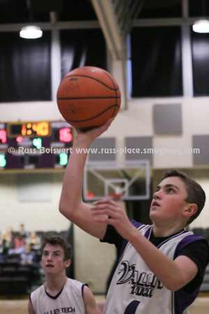 BVT Boys Freshman Basketball vs Worcester Tech