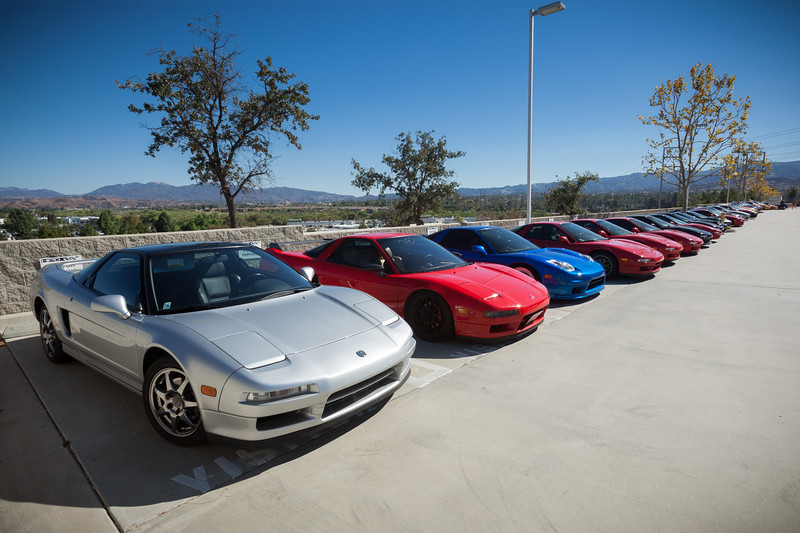 This is what it would look like if every employee and guest owned an NSX