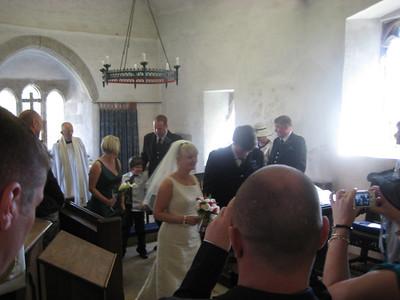 JO BARNETT AND GORDON BOOTH WEDDING, POOLE, ENGLAND, APRIL 2009