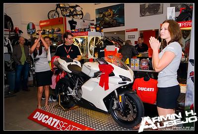 Ducati 848 Unveiling, 12-14-2007