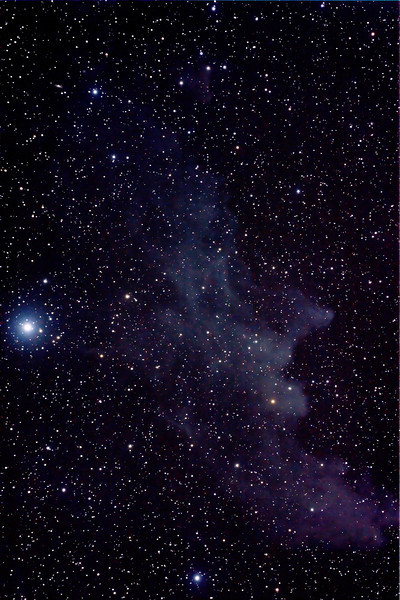 IC2118 Witch Head Nebula in Eridanus - 1/12/2013 (Processed stack)