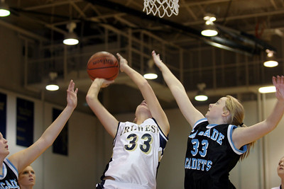 Tri-West v Cascade  Girls Basketball