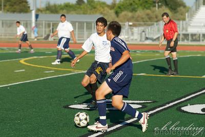 10-09-27 RCHS JV Boys Soccer vs Cosumnes Oaks