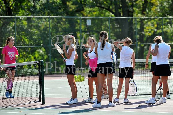 Wyomissing VS Berks Catholic Girls Tennis 2011 - 2012