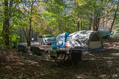 Guys Camping Trip to Grayson Highlands