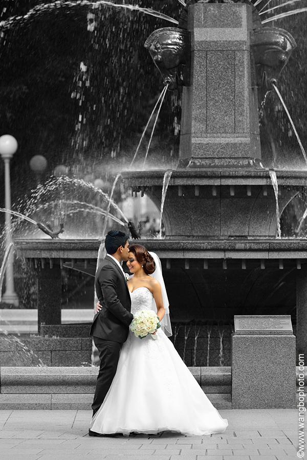 悉尼的婚礼照片(1) - 一镜收江南 - 清韵