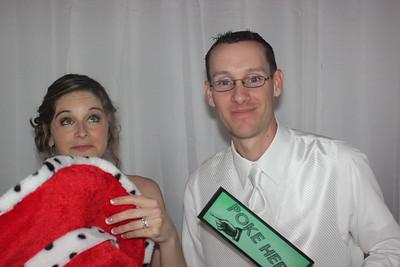 Carolyn and Sean's Home Run Wedding Photobooth Schererville