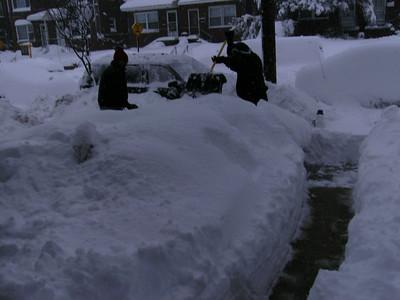 Big Snow Storm February 6, 2010