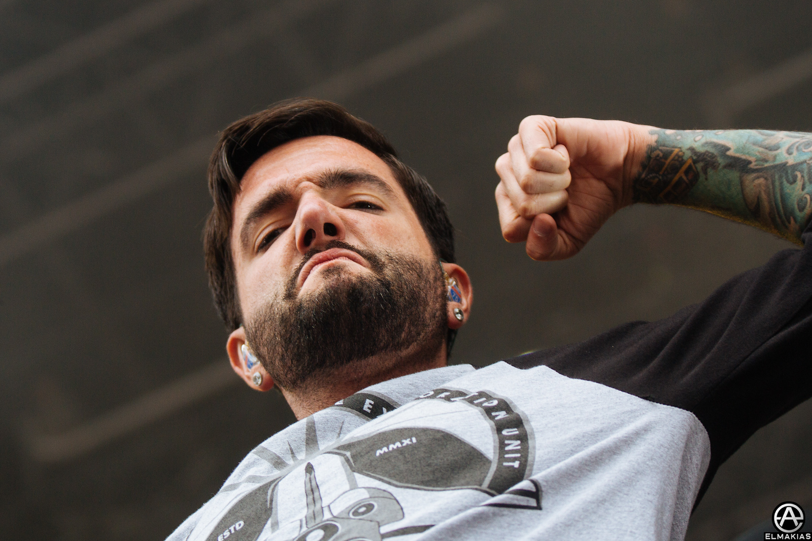 A Day To Remember at El Briot Festival in Hamburg Germany