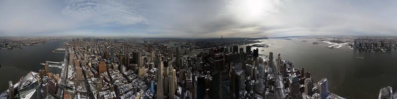 One World Trade Center 360° Panorama