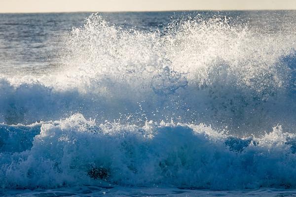 The waves of Manhattan Beach & Hermosa Beach