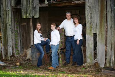 Mark Nichols Family (October 2011)