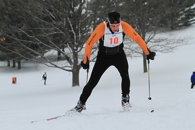 2015 White Pine 50K skiers