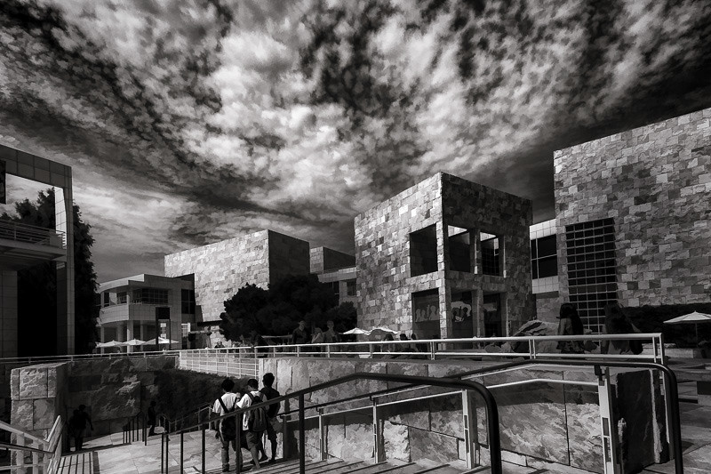 July 30 - Busy day at the Getty.jpg