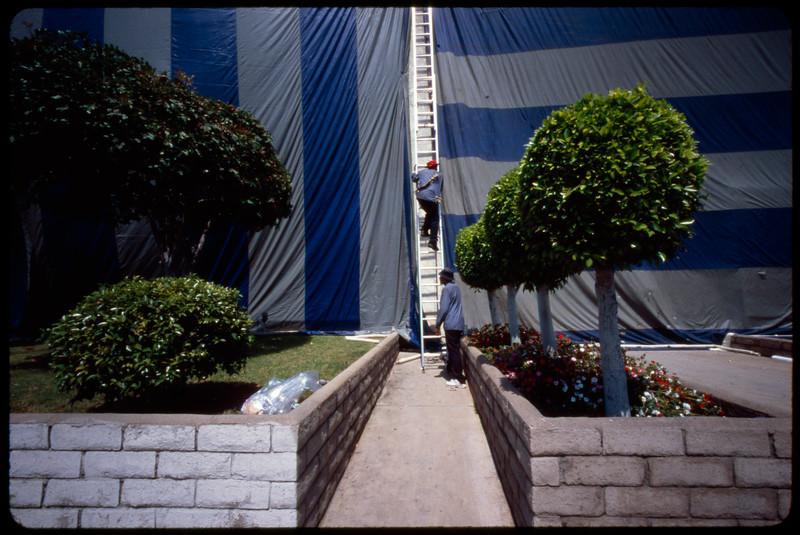 Wrapped multiple dwelling unit (MDU), Los Angeles, 2005