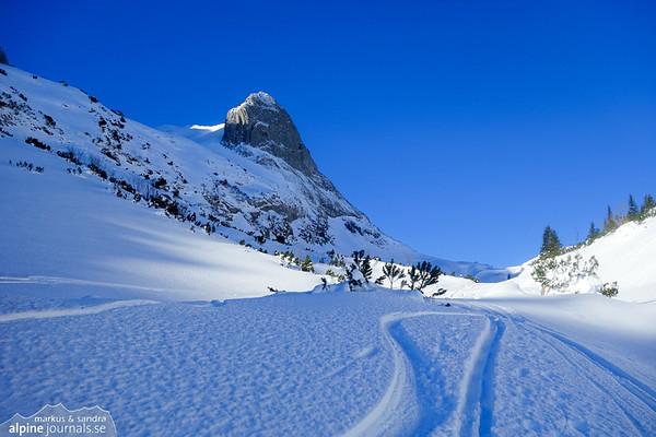 Windecksattel ski tour, 2017-01-22