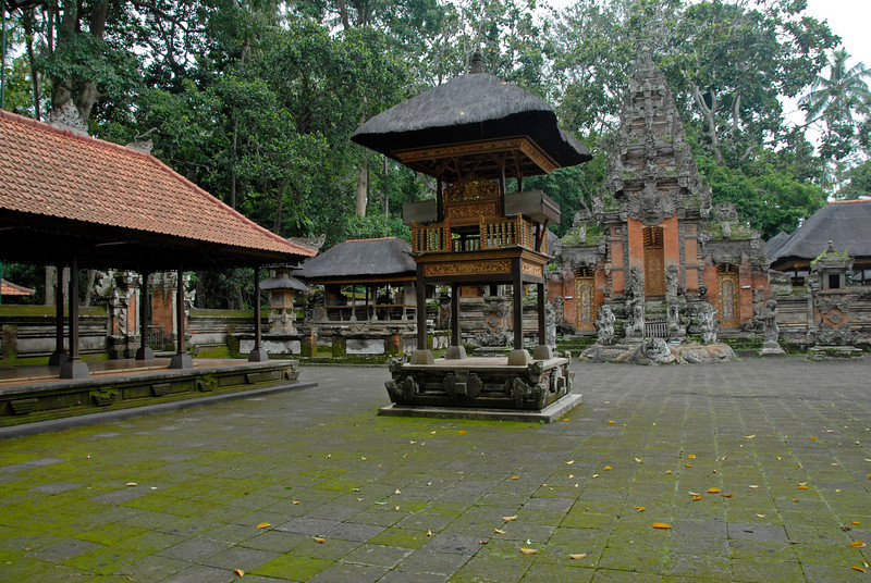 Shrine in the middle of the grounds at Mother Temple of Besakih in Bali