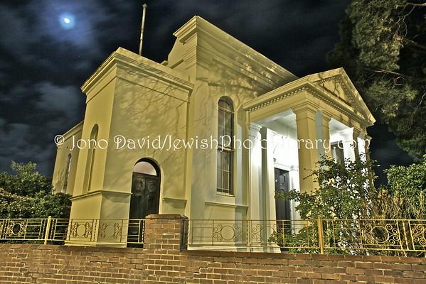 AUSTRALIA, Victoria, Ballarat.  Ballarat Synagogue (Ballarat Hebrew Congregation, She'erit Yisrael) (8.2010)