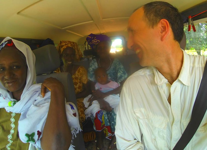 hitchhiking in west africa