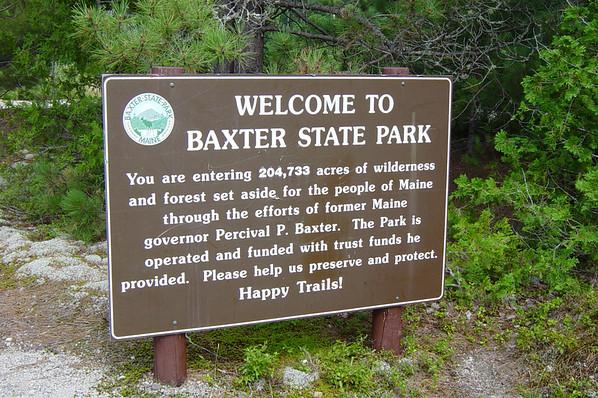 Baxter State Park, Maine...August 2005