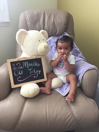 Sahana 12 months