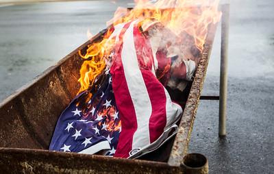 20160614 - Flag Burning (SN)