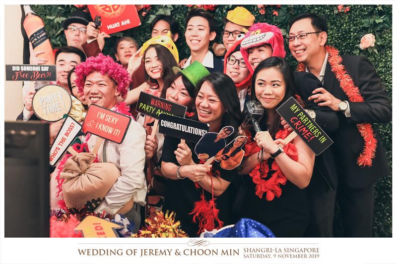 Wedding of Jeremy & Choon Min | © www.SRSLYPhotobooth.sg
