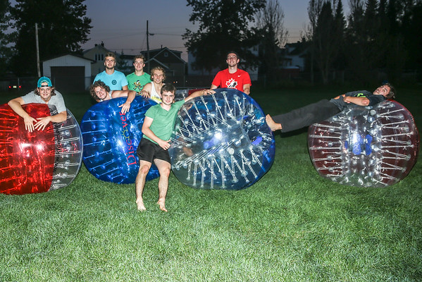 Bubble Soccer fun, September 15th 2015.