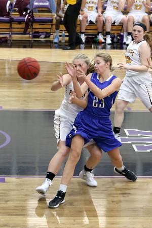 Girls Basketball, Danville vs Mt. Pleasant 11/16/2015