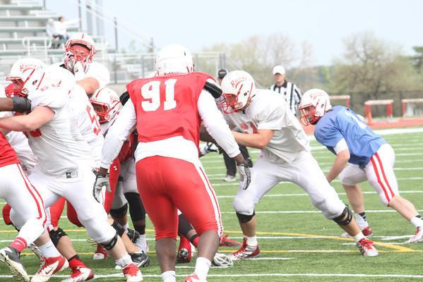 Spring Football Scrimmage 2014