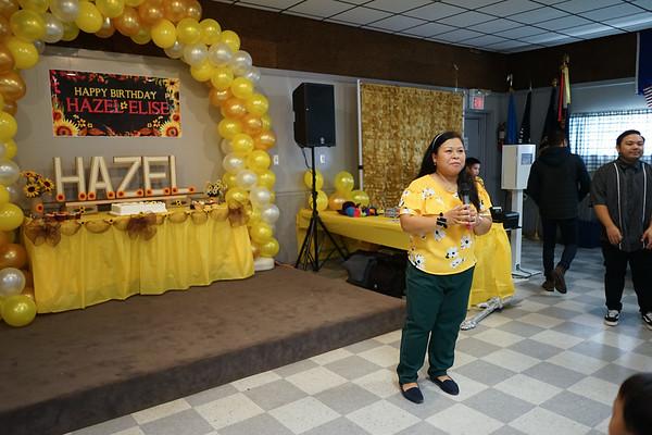Hazel Bunales 1st Birthday