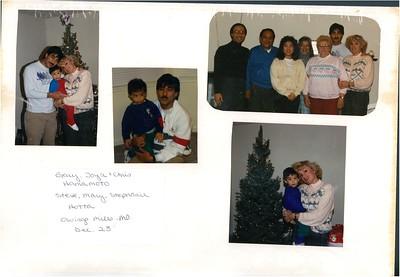 12-23-1989 Gary & Joyce Hamamoto @ Owings Mill