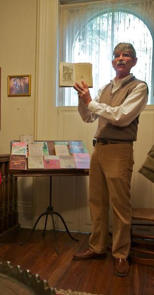 Daniel Carter Beard House - Marc Hult, narrating history on Dan Beard and his sisters