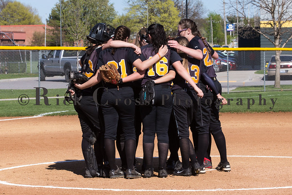 GHS Girls JV Softball vs Geneseo April 17, 2017
