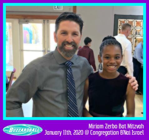 Miriam Zerbo Bat Mitzvah | JANUARY 11TH, 2020