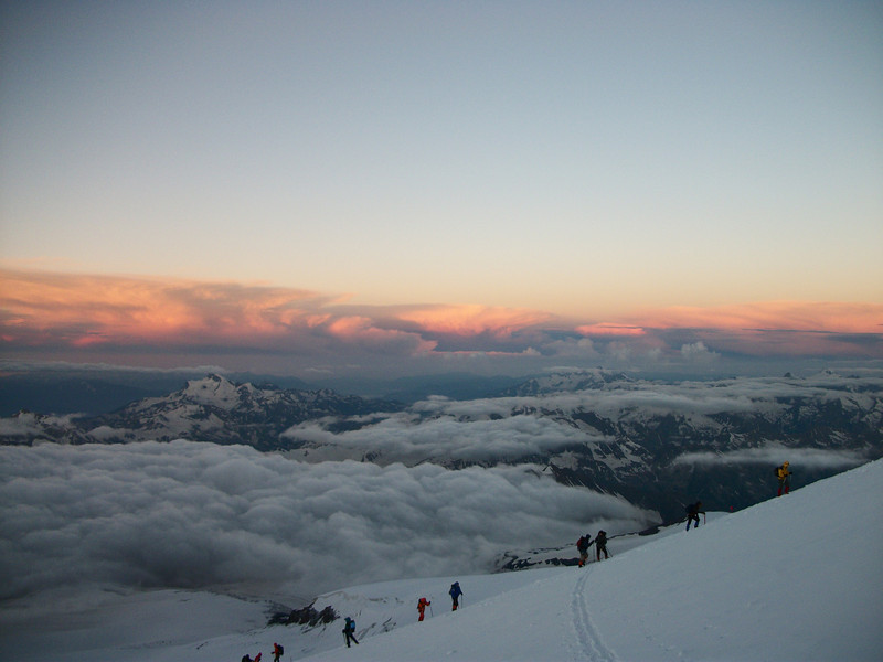 Thursday - July 15th. We started our summit day before sunrise.