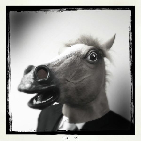 Ben as Mr. Horse