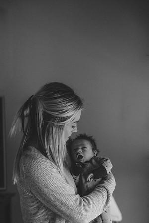 Blaise + Mom