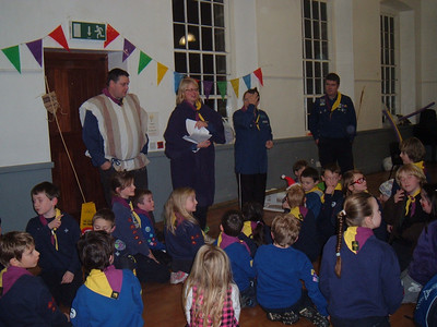 Beavers and Cubs: 2009 Knighty Night - Medieval Sleepover Dec