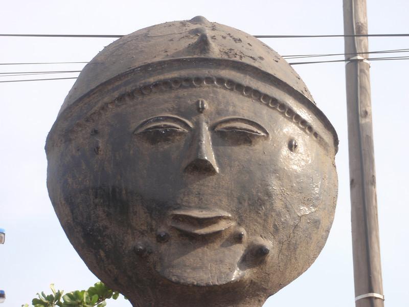 030_Memorials Heads. Ashanti Tribe. Ghana. 18th. C.jpg