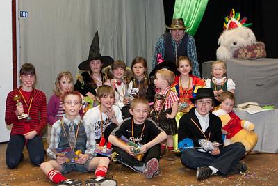 Kindercarnaval 2011 - Playback en prijsuitreiking