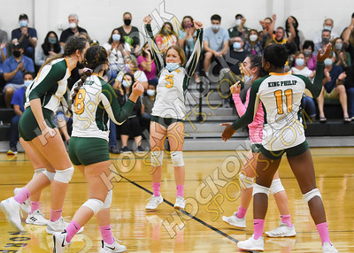 King Philip - Franklin Volleyball 10-08-21