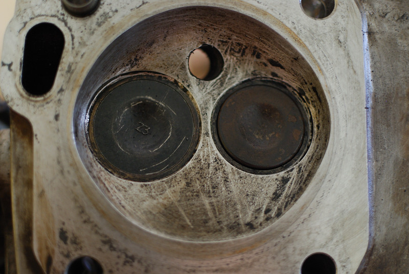Cleaned generator head and valves.