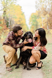 Barbara, Brian, Onyx Family Session & Pregnancy Announcement
