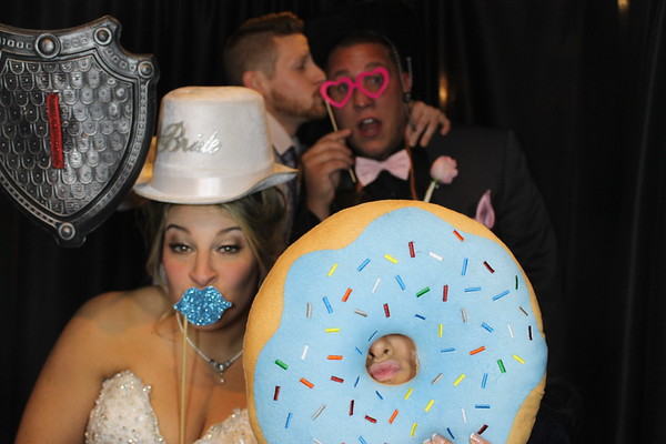 Jocelyn & Scott's Wedding Photobooth Pics 12.31.17!