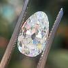 2.13ct Antique Pear Shape Diamond, GIA I, VS2 1