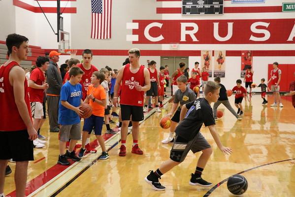 HS Boys Basketball Camp w/ WRC  111518