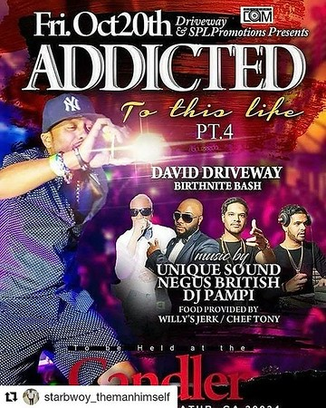 DAVID DRIVEWAY'S ADDICTED TO THIS LIFE BIRTHDAY BASH 2017